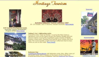 Exemplo de Divulgación On-line do Patrimonio pola Industria do Turismo, con apoios Oficiais